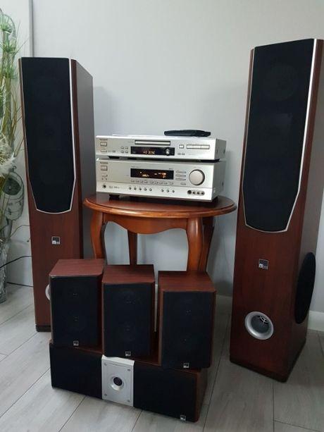 kino domowe ONKYO ( 5.1 ) - zestaw: Amplituner+DVD+zestaw głośników