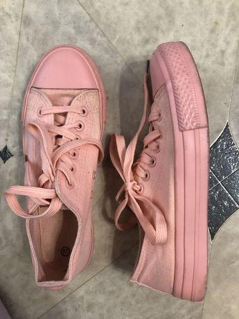 36! кеды розовые, спортивная обувь