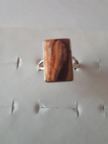 pierścionek ze srebra z lwią łapą