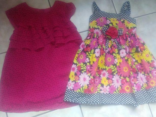 2 сукні на дівчинку 5років,ціна за дві