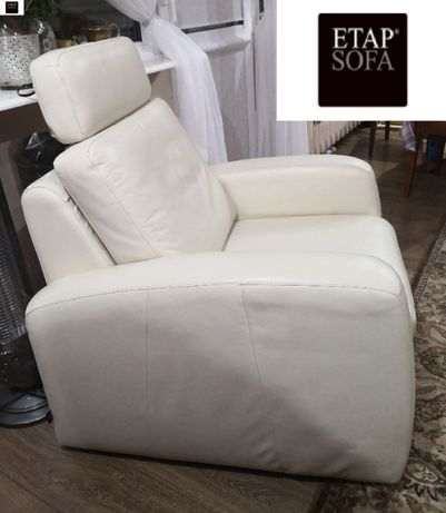 Etap Sofa - piękny skórzany fotel