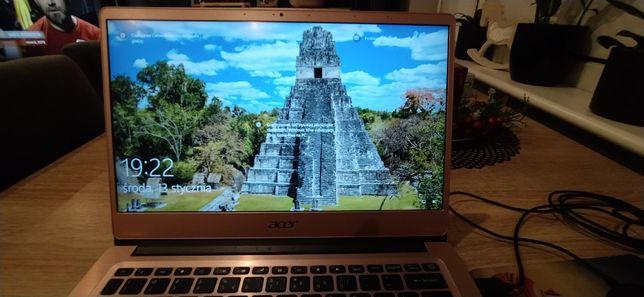 Laptop Acer Swift 3 i3-8145U/4GB/128/Win10 FHD IPS Różowy