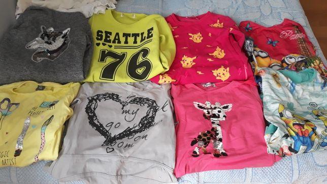 Sprzedam ubrania rozmiar 128 i 134
