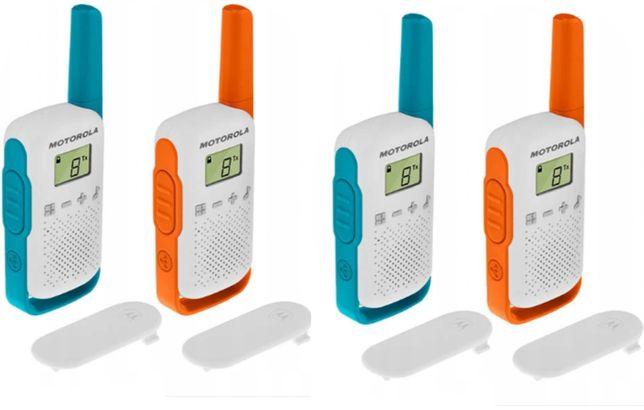 Motorola krótkofalówki TLKR T42 Quad 4 KM w zestawie 4 szt