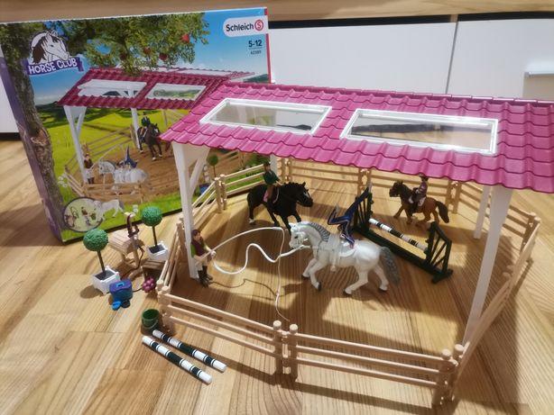 Schleich szkółka jeździecka konie akcesoria