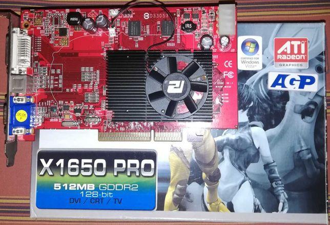 ATI Radeon X1650-AGP 512 MB