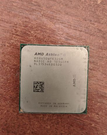 Процессор AMD athlon x3 450