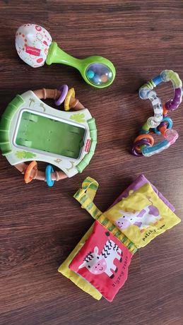Zabawki grzechotki Fischer Price