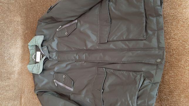 Мужская куртка,зимняяGEOX, черная, р. 56(евро)
