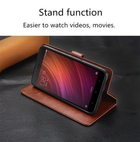 Кожаный чехол книжка для Samsung Galaxy A50, A30, A20