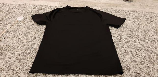 czarny t-shirt sportowy koszulka sportowa rozm.M