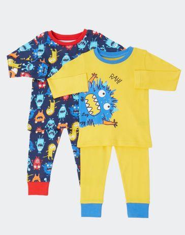 Классный набор пижамок для мальчиков от dunnes stores