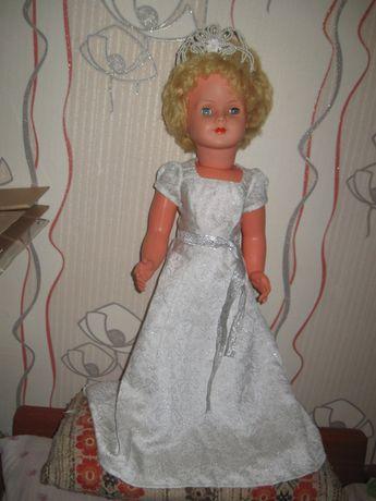 """большая немецкая кукла 3М-МММ-72см. """"Принцеса Диана"""""""