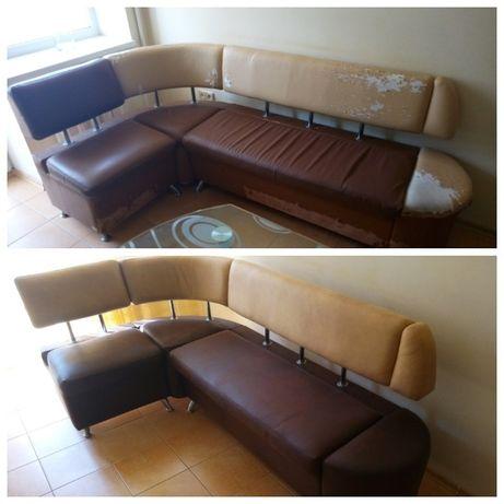 Перетяжка, ремонт и обивка мягкой мебели! Диван, кресло, стул.