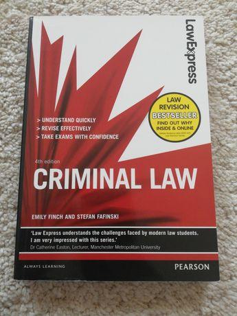 Criminal Law. 4th edition. E. Finch i S. Fafinski