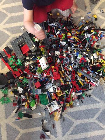 Lego mix 10kg duzo zestawow