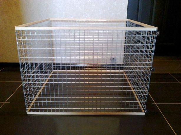 Вольер манеж клетка для маленьких собак щенков кроликов котят и пр.