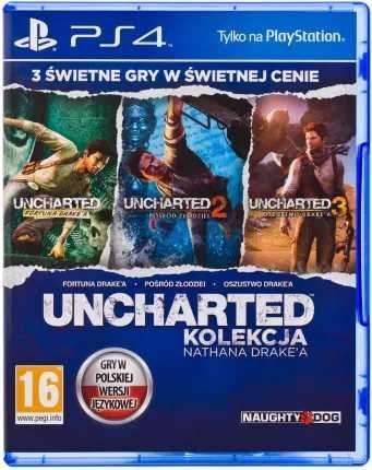 PS 4 kolekcja Nathana Drake'a Uncharted 1,3 3