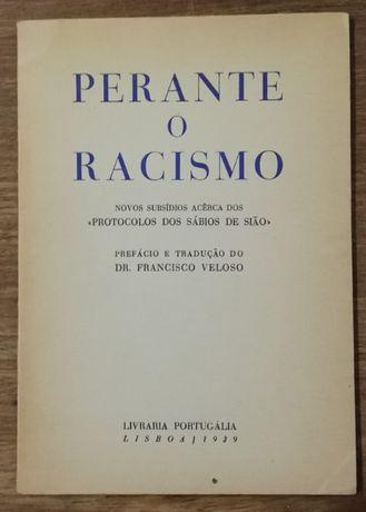 perante o racismo, dr. francisco veloso, portugália 1939
