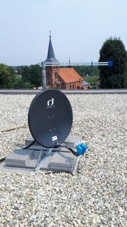 Montaż, serwis anten TV/SAT, ustawienie anteny, Canal+, Cyfrowy Polsat