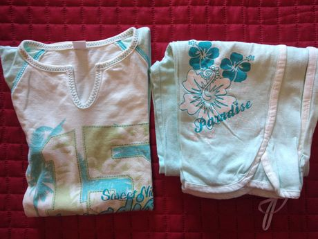 Pijama 10 anos XS