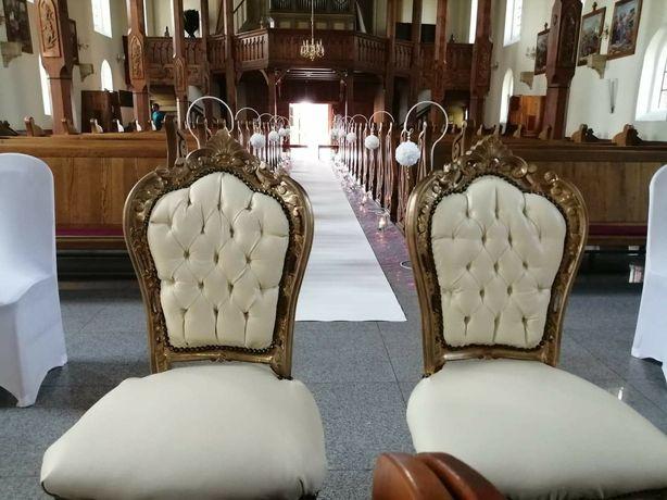 Krzesła Ludwik XVI