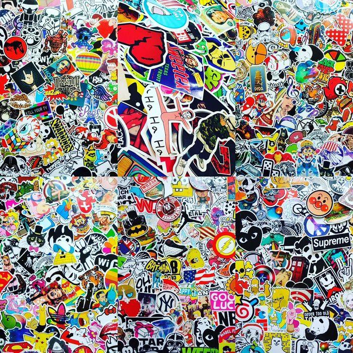 5000шт ОПТ Стикеры, Стикер бомбинг, Sticker Bombing, Стикербомбинг Николаев - изображение 1