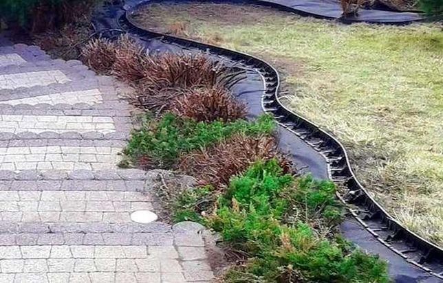Obrzeże trawnikowe wysokość 4,5cm x 1 metr !! PRODUKT POLSKI !!!