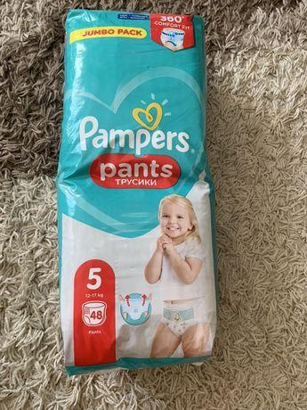 Pampers pants подгузники трусики