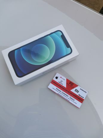 Iphone 12 mini blue 64GB novo selado