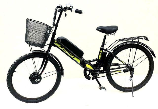 Электровелосипед складной Azimut 24