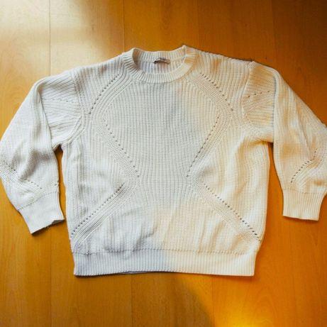Sweterek damski sweter Orsay bialy S