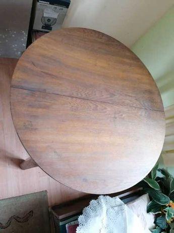 REZERWACJA Stół PRL, rozkładany, okrągły/owalny