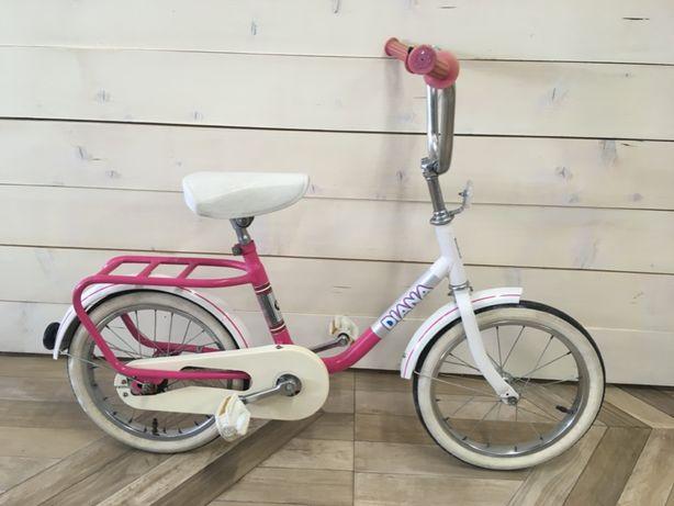 """Romet DIANA 16"""" retro rower dla dziewczynki - świetny stan"""