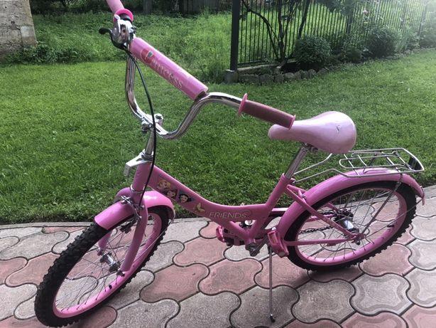 Велосипед для дівчтнки