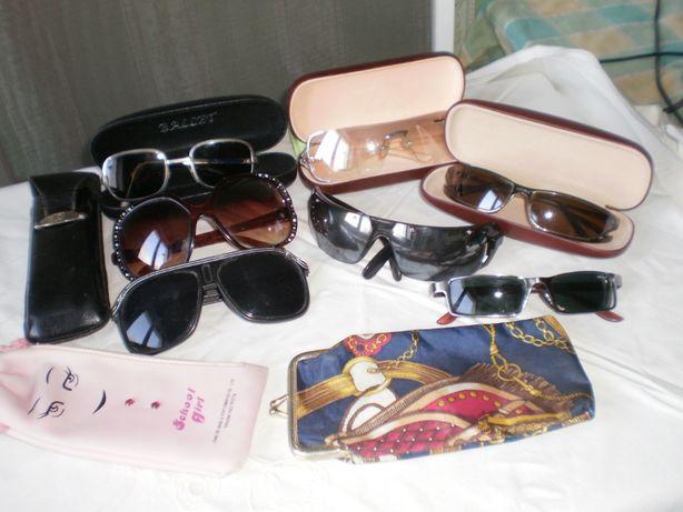 очки от солнца-футляр