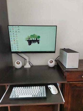 Komputer SFF Ghost S1, RTX 2070 Super FE, Ryzen 3600, Alienware 240 Hz