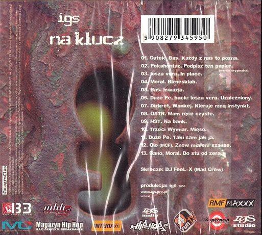 Płyta CD IGS Na Klucz