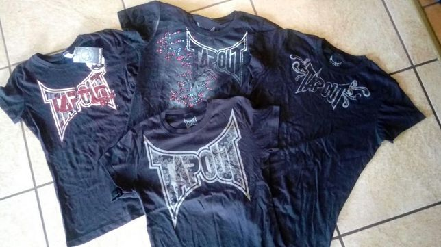 Nowa T-shirt Tapout. r. S Tanio