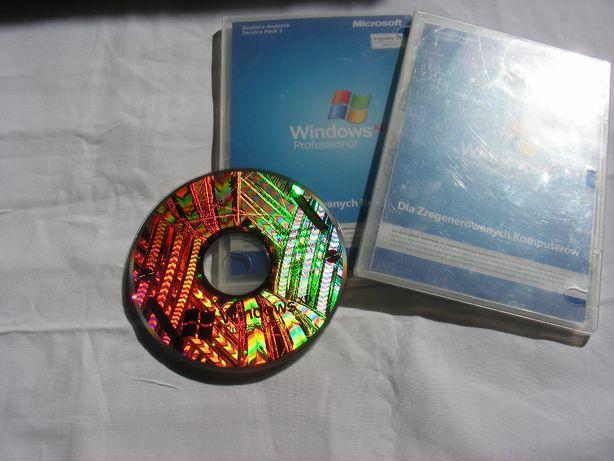 Microsoft Windows XP/ME/98 Wersja Polska NOŚNIK + Podręcznik