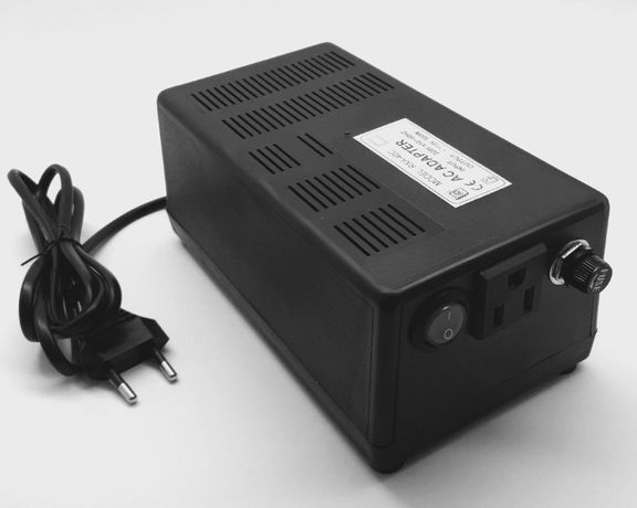 Конвертер 220-110в 500Вт, преобразователь, адаптер с американской сети