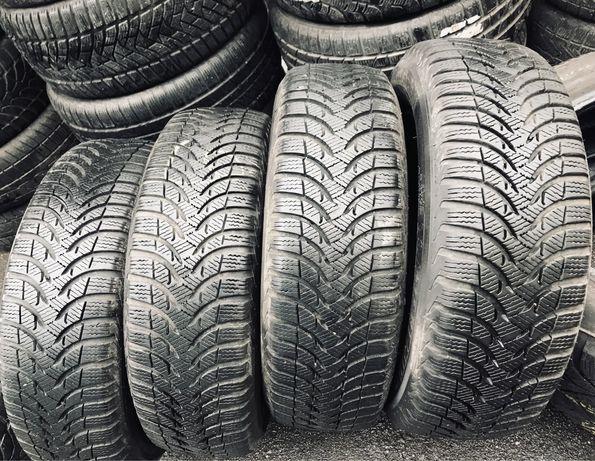 Michelin 185/60r15 4 шт зима резина шины б/у склад