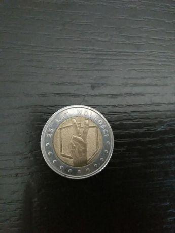 Moneta 25 lat wolności