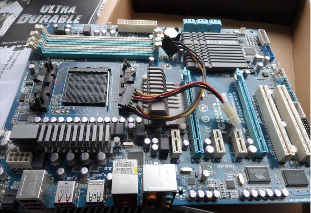 Gigabyte GA-970A-UD3P Лубны - изображение 1