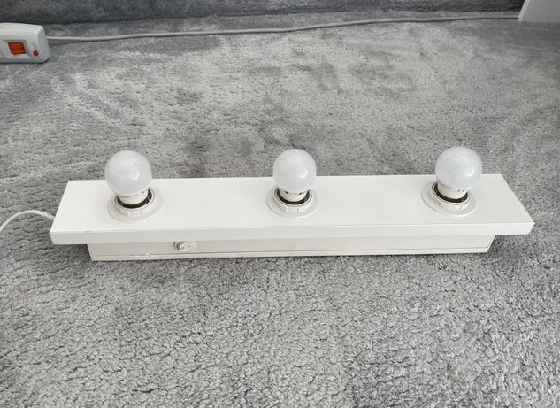 Lampa LED do toaletki lustra + 3 żarówki DOSTĘPNE 2 SZTUKI
