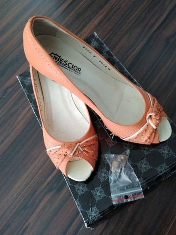 Botki buty Neścior 37 orange