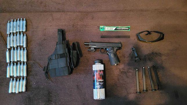 Pistolet ASG CO2 STI Duty One Blow Back + DODATKI