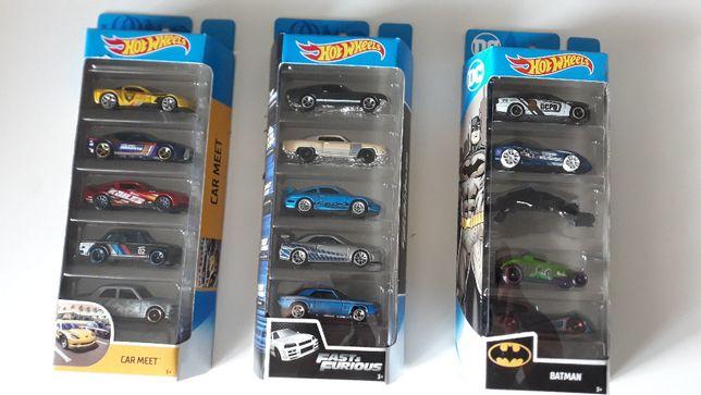 Hot wheels 5 sztuk Batman, Car meet, Lamborghini (Ceny w ogłoszeniu)