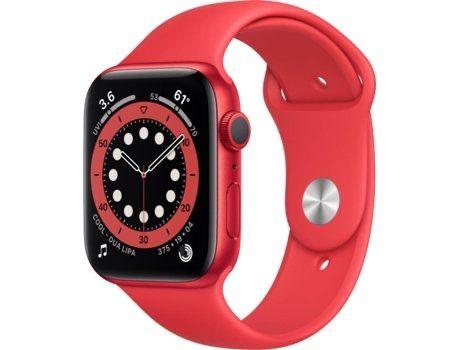 Apple Watch Series 6 44mm GPS Alumínio - Pulseira desportiva
