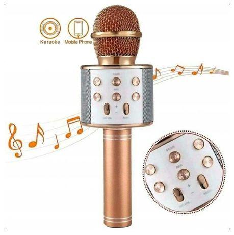 4 kolory Bluetooth mikrofon do Karaoke bezprzewodowy głośnik mikrofono